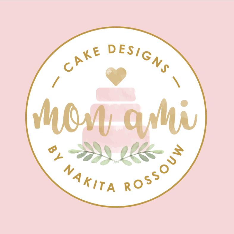 Mon Ami Cakes logo design by Emily House