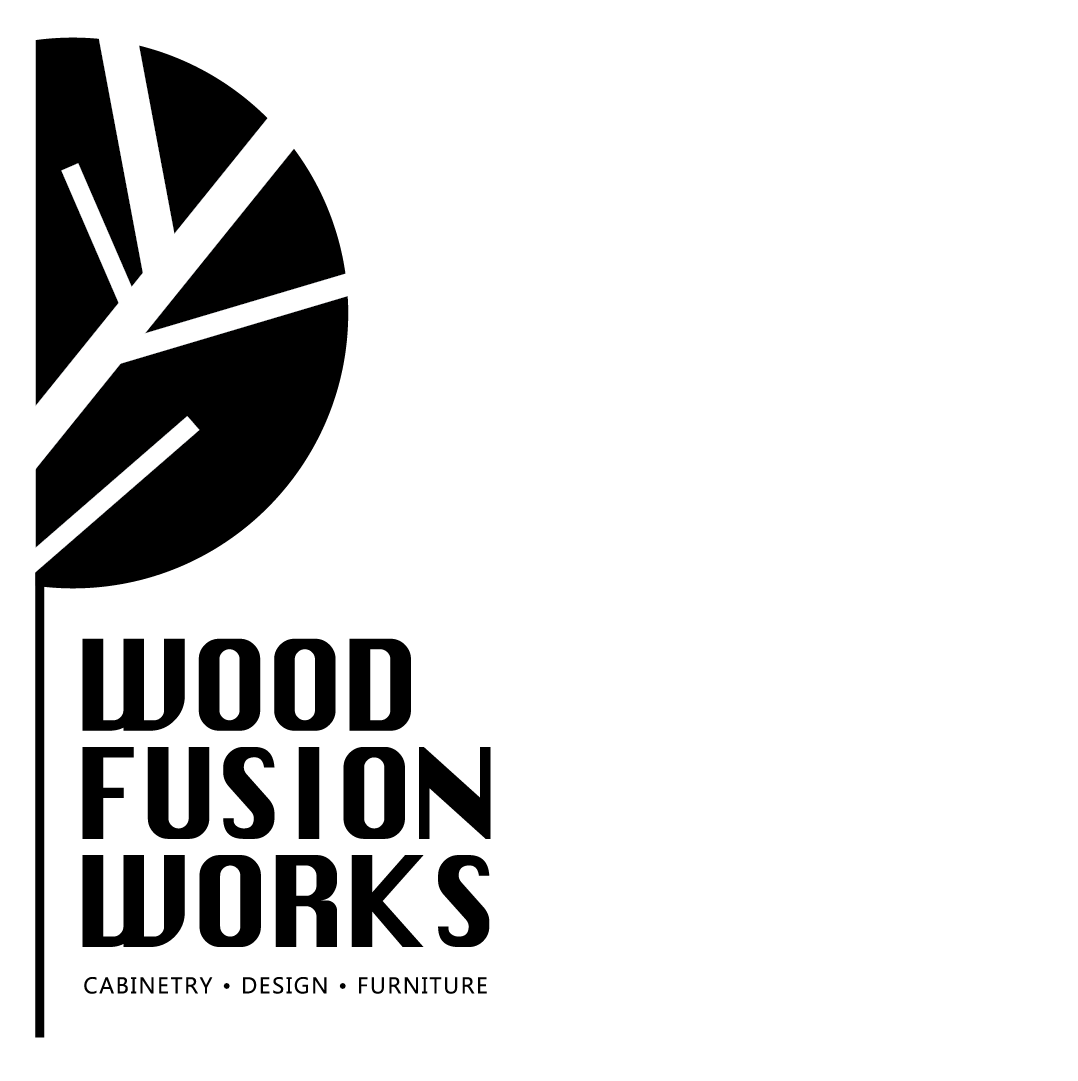 Wood Fusion Works Logo by Emily House Graphic Design