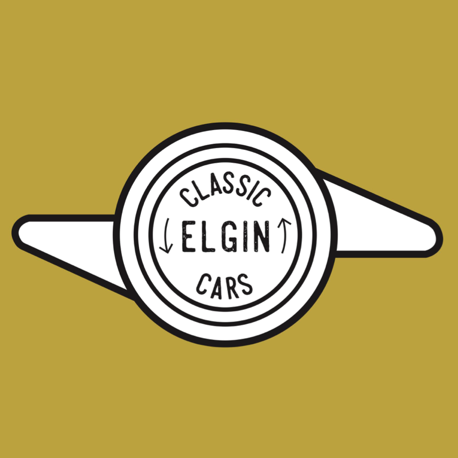 Elgin Classic Cars Logo by Emily House