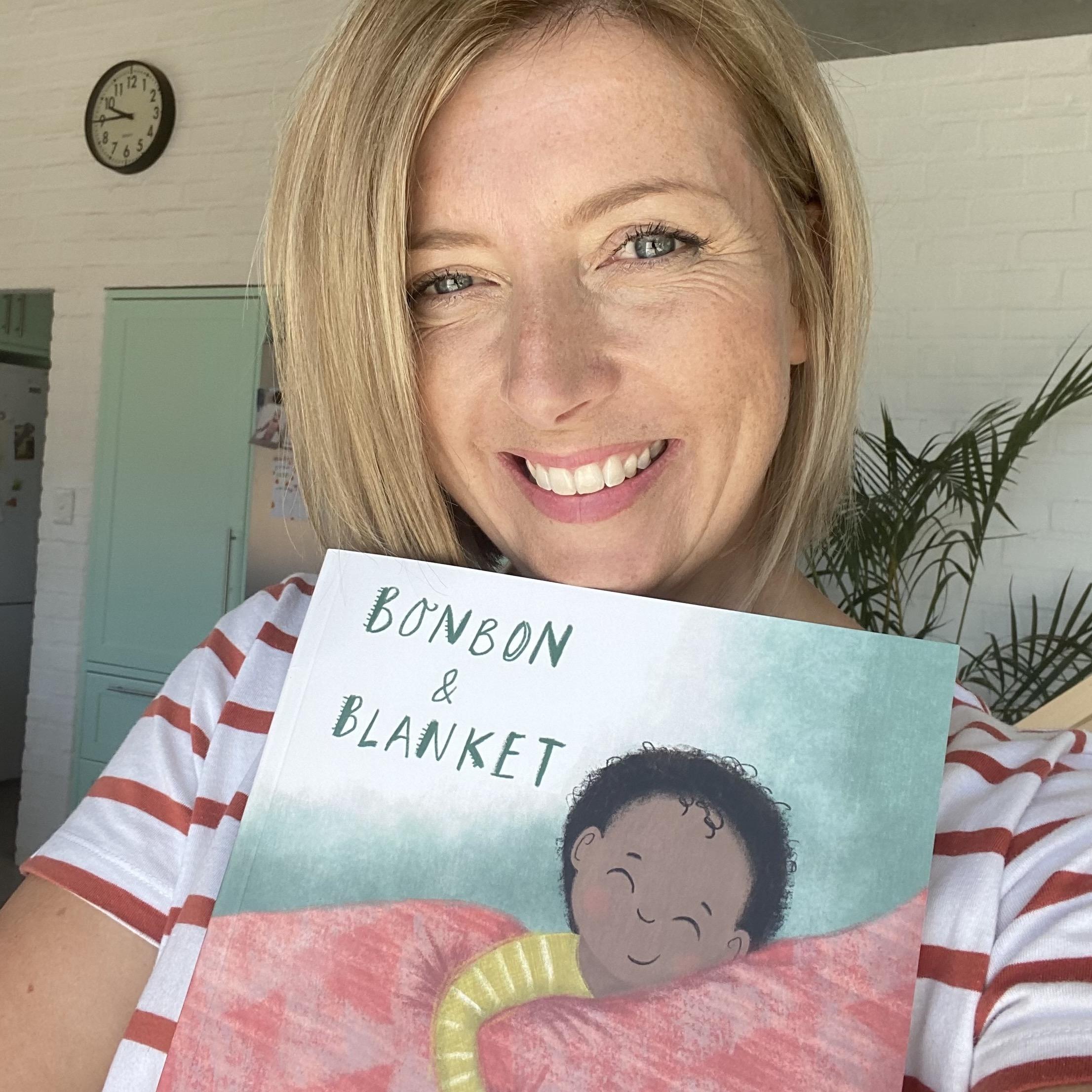 Author Emily House with new book Bonbon & Blanket